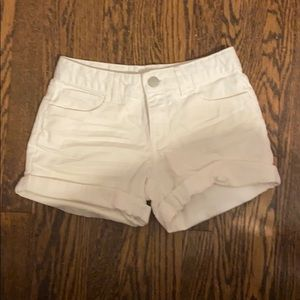 GapKids White Jean Shorts